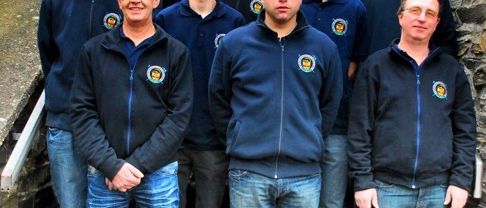 Gruppenbild der FFW Eckfeld 2011