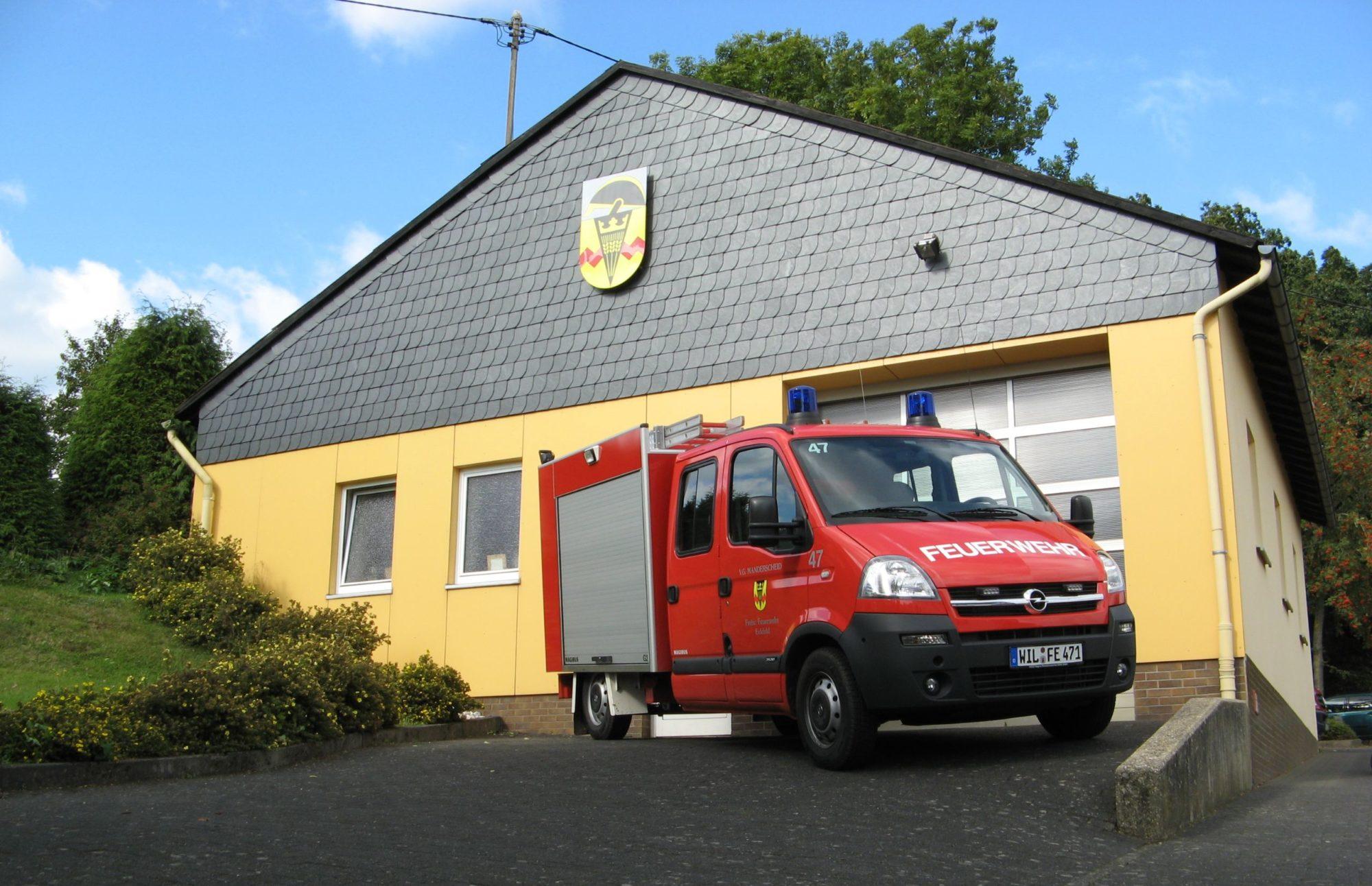 Homepage der Feuerwehr Eckfeld